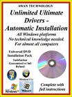 1.2million 32b 64 bit AUTOMATED DRIVER INSTALLATION PACK WINDOWS XP VISTA 7/8/10