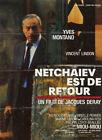 affiche NETCHAIEV EST DE RETOUR - DERAY - Yves MONTAND