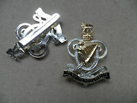 Queens Royal Hussars, cap badge, new & un-issued.