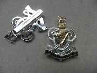 Queens Royal Hussars, cap badge, new & un-issued.