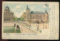 France PARIS Pont au Change Palais de Justice u/b PPC