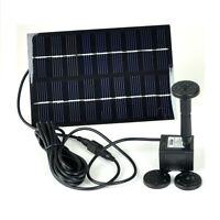 Instapark GYD-0018 Solar Panel Power Fountain Pond Water Pump Birdbath