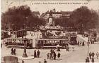 CPA -69- LYON - Cours Verdun et le Monument de la République (tramways).