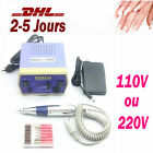 Kit Electrique Nail Art Manucure Pédicure Drill Ponceuse File Ongle Machine Set