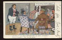 Political satire FIRESIDE Arthur Moreland Comic John Bull PPC