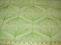 ~2 6/8 YDS~MODERN RETRO~ EMBROIDERED COTTON  UPHOLSTERY FABRIC~FABRIC FOR LESS~