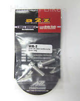 A2Z Water Bottle Bolts 7075-T6 - Silver Alloy - Pack of 2