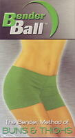 Bender Ball - Buns & Thighs - NEW VHS Tape ONLY Fitness