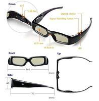 2 pairs 3d Universal Active Shutter Glasses for Panasonic TV , Brand New !