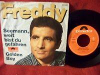 Freddy Quinn - Seemann, weit bist du gefahren / Golden boy   orig. 45