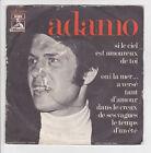 ADAMO Vinyle 45 tours SP SI LE CIEL EST AMOUREUX DE TOI VOIX MAITRE 23076 RARE