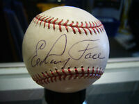 ELROY FACE  PITTSBURGH PIRATES SIGNED BASEBALL 1960 WORLD CHAMPS