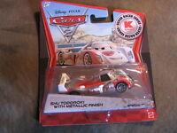 Disney Pixar Cars 2 SHU TODOROKI  W/ METALLIC FINISH Kmart Days 8