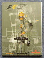 CANADIAN GRAND PRIX FORMULA ONE F1 2002 MONTREAL Official Programme