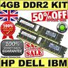 4GB kit  2x 2GB 2Rx4 PC2-5300P-555-12 MEMORY for SERVER | HP GENUINE LABELS