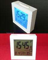 LCD Digitaluhr Wecker Wetterstation Uhr Tischuhr Reiseuhr funkwecker B-3501c