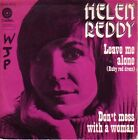 """45 TOURS HELEN REDDY """"Leave Me Alone / Don't Mess With A Woman"""" 1973"""