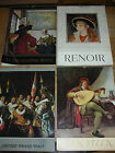 LOT 4 vintage VAKA le calendrier D'ART the calendar RENOIR 1959 1963 1964 1974