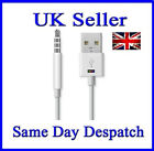 iPod Shuffle USB Data Charger Sync Cable Lead 3rd 4th 5th 6th Gen - FREE P&P UK