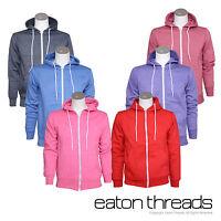 NEW Ladies Women Girls Eaton Threads Hoodies Jumper Sweatshirt Sizes XS,S,M,L,XL