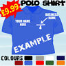 WINDOW CLEANING BUSINESS PERSONALISED T POLO SHIRT