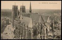 AK Belgien Bruxelles Brüssel Eglise Ste-Gudule ungelaufen um 1930