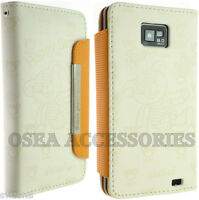 FOR SAMSUNG GALAXY S2 SII I9100 LEATHER CASE COVER WALLET POUCH SCREEN PROTECTOR
