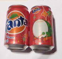 FANTA can INDONESIA 330ml STRAWBERRY Coca Cola 2012 Rasa Stroberi Lebaran