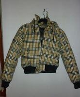 GIUBBOTTO PIUMINO giacca VERA PIUMA D'OCA moda donna ragazza bambina invernale S