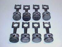 Maserati Engine Pistons_Connecting Rods High Compression V-8 Set of Eight OEM