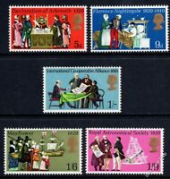 GB 1970 General Anniversaries Complete Set  SG819-823 Unmounted Mint