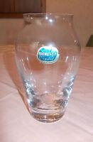 Vase Tischvase aus Glas Bohemia Crystal - 16 cm