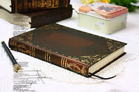 Vintage classic notebook blank diary journal Single line Retro note book SMALL