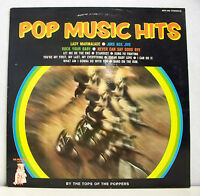 "33T The TOPS OF THE POPPERS Vinyl LP 12"" POP MUSIC HITS -JUKE BOX MR PICKWIC 009"