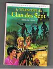LE TELESCOPE DU CLAN DES SEPT ENID BLYTON BIBLIOTHEQUE ROSE 1977