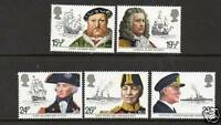 GB 1982 Maritime heritage MNH mint set stamps