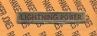 """16th Armored Division """"LIGHTNING POWER"""" TAB #3"""