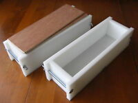 HDPE Two Soap Mold Set 22 BAR 6 Lb Y-LINE KIT WOOD LIDS
