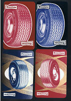 Playing SWAP Cards  4  VINT FIRESTONE  MOTOR TYRES/TIRES ADVT   M18