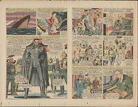 1966 X-MEN #22 ORIGINAL PROOF PAGE PRODUCTION ART MARVEL COMICS COUNT NEFARIA
