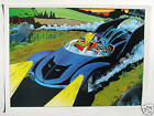 Vintage 1978 BATMOBILE BATMAN Pin up Poster DC Comics