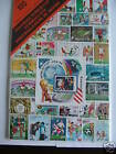COUPE DU MONDE FOOTBALL : 50 TIMBRES TOUS DIFFÉRENTS /STAMPS FOOTBALL WORLD CUP