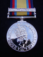 BRITISH ARMY,PARA,SAS,RAF,RM,SBS - GULF WAR 1991 'Desert Storm' Medal & Ribbon