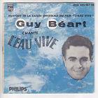 "Guy BEART Vinyl 45 tours EP 7"" L'EAU VIVE Film - L'ANE - PHILIPS 432 261 RARE"