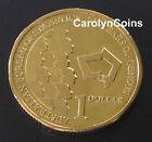 1 Dollar Coin 2011 Australian Bureau of Statistics 100 Years of Census $1 UNC