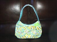 Vera Bradley Making Waves Hobo in Lemon Parfait shoulder bag purse NWT Fast ship