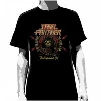 STEEL PANTHER - Death to All But Metal (Distressed):T-shirt - NEW - SMALL ONLY