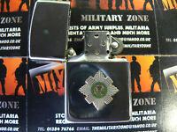 Army Military Regimental Lighter With Scots Guards On Front (green)