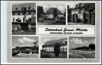 GRAAL-MÜRITZ Mehrbild-AK DDR Sanatorium Richard Assmann ca. 1965 AK ungelaufen
