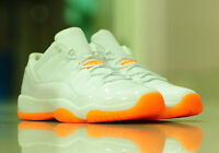 NIKE AIR JORDAN 11 LOW CITRUS GS/KIDS Sz UK US3 4 5 6 7Y BG Bred 580521-139 2015